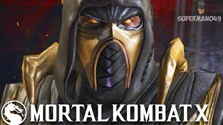 "SCORPION PUTS A PERMANENT END TO THE WORST CONNECTION - Mortal Kombat X ""Scorpion"" Gameplay"