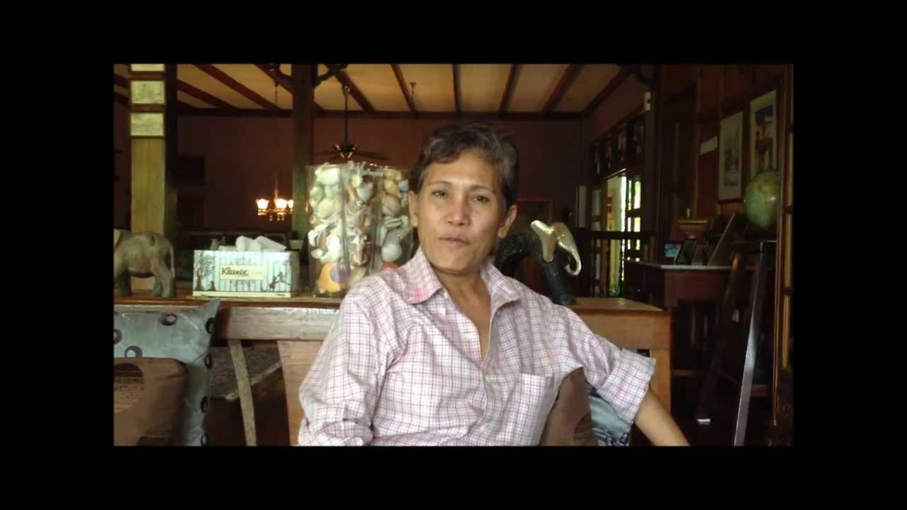 Interview With Aunty Aini Aunty Aini S Garden Cafe Youtube
