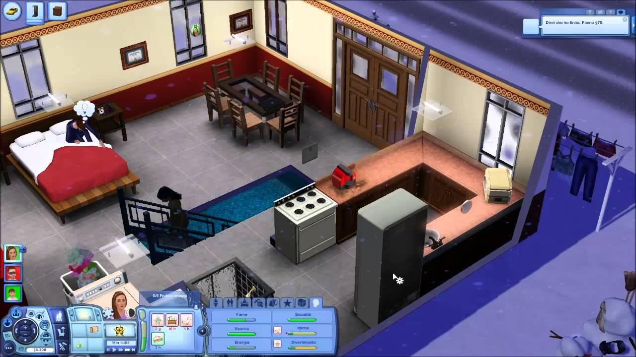 Albero Di Natale The Sims 3.The Sims 3 Parte 12 Arriva Natale Youtube