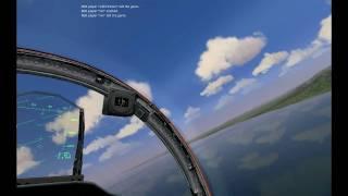 F15C Eagle + SU-27 Flanker Combined Force Interception