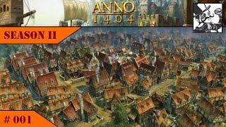 Anno 1404 - Venice: Season II #001 Setting up the basics.
