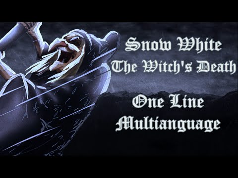 Snow White - The Witch's Death One Line Multilanguage