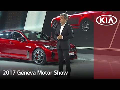 Kia Stinger and All-New Kia Picanto @ The Geneva Motor Show 2017