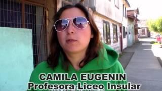 EDUCACION CAMILA EUGENIN PROFESORA LICEO INSULAR BAILE ENTRETENIDO