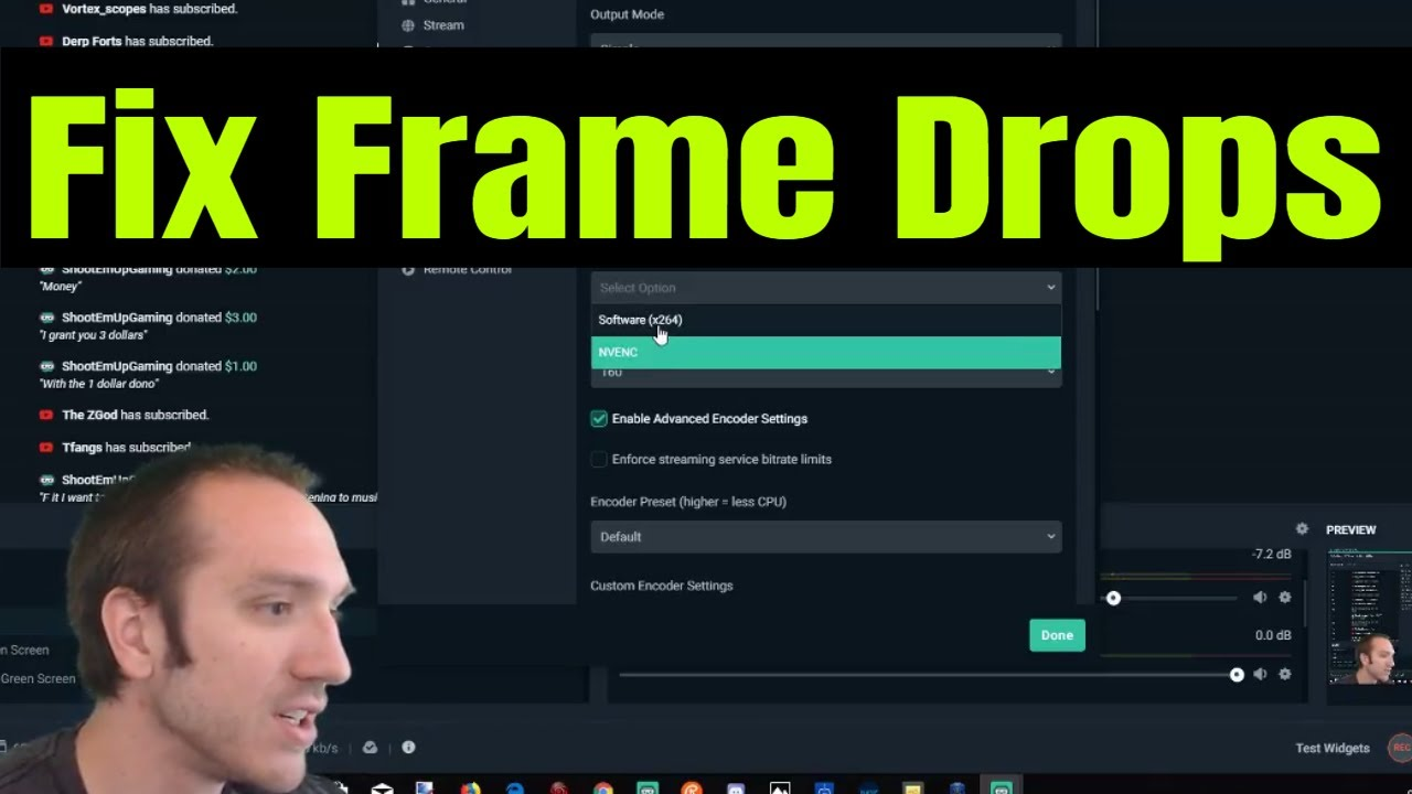 How to Fix Stream Labs OBS Frame Rate Drop (EASY!)