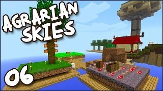 "Minecraft MODDED Skyblock! Agrarian Skies Ep 06 - ""The Cajun Hermit Chef!!!"""