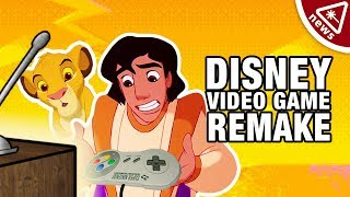 The Lion King & Aladdin Video Game Remakes Will Un-Destroy Your Childhood!