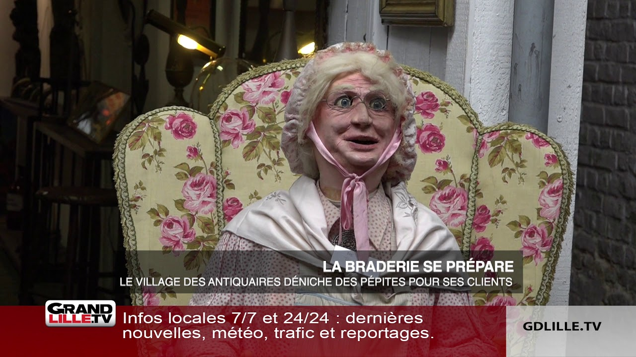 Antiquaires Lille J 100 Avant La Braderie De Lille Grand Lille Tv
