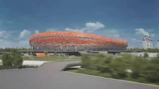 Презентация строящихся стадионов Чемпионата мира по футболу 2018