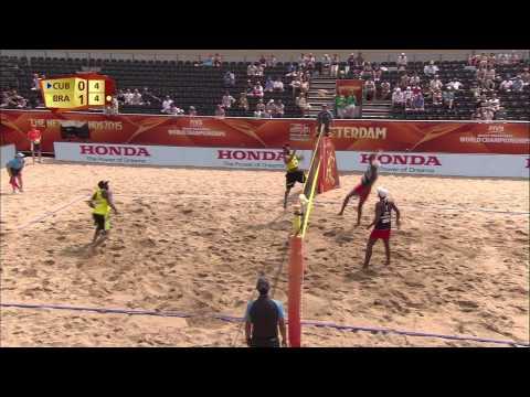 Cuba Vs Brazil Full Match FIVB Beach Volleyball World Championships