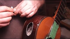 Guitar Repair: Cutting Side Ports