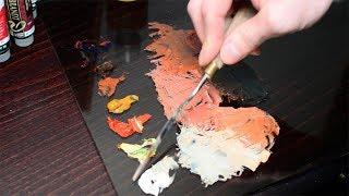 Как смешивать цвета для портрета? Урок с Сергеем Гусевым.