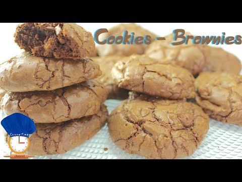 cookies---brownies-:-cookies-chocolat-noisettes-coeur-fondant-:-cuisine-time-fr