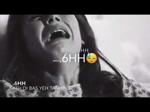 Kar gahi  kun behfai Sath thi bas  yeh tanhai mashup beautiful sad song