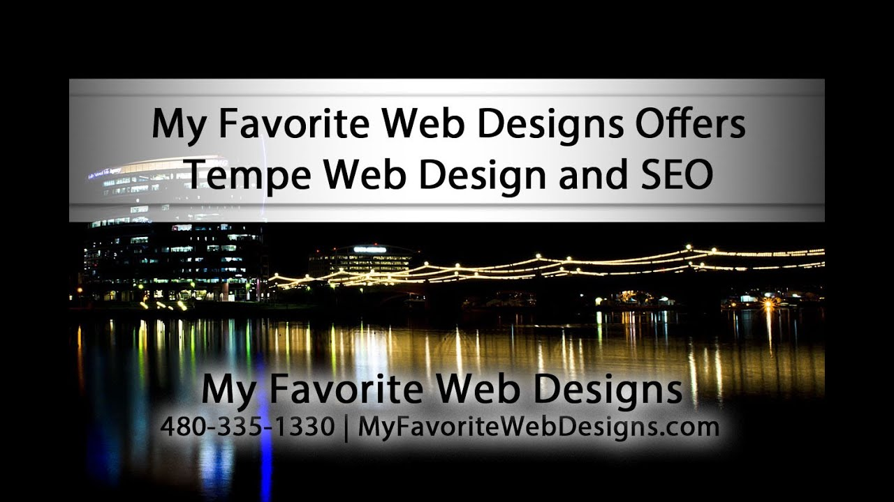 Tempe AZ Web Design And SEO Services By My Favorite Web Designs
