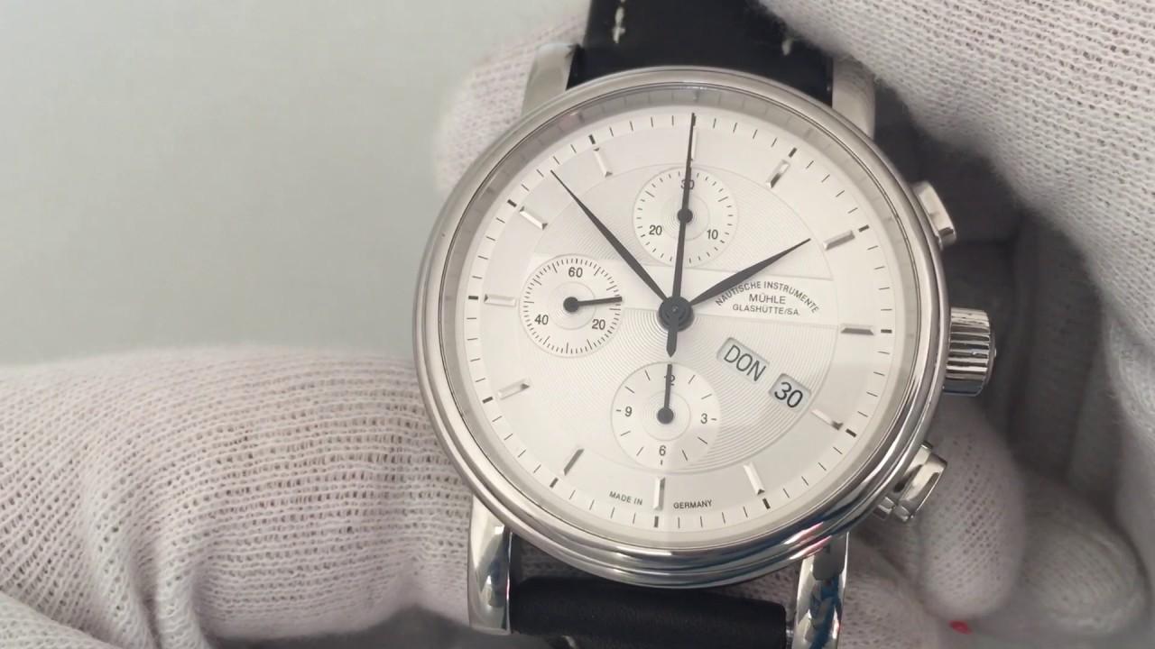 Muhle Glashutte Teutonia Ii Chronograph Watch Ref M1 30 90