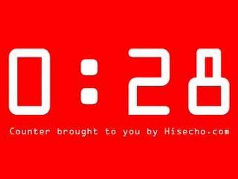 1 Min Countdown Timer - YouTube