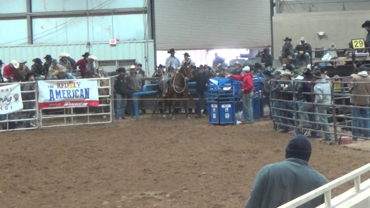 Jody Green In The American Qualifier At The Ultimate Calf
