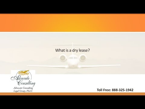 What is a dry lease?