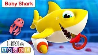 Baby Shark 3D Doo Doo Doo | Nursery Rhymes and Kids Songs by Little Angel