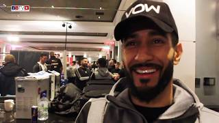 QAIS ASHFAQ: TALKS DOMESTIC SHOWDOWN WITH JOE HAM SATURDAY NIGHT