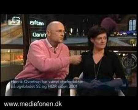 Debat mellem Gitte Madsen og Henrik Qvortrup