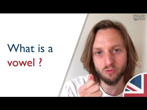 What is a vowel