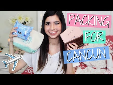 PACK WITH ME FOR CANCUN + VACATION/TRAVEL ESSENTIALS | Alara