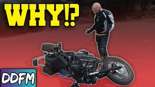 Why Do New Motorcycle Riders Crash?