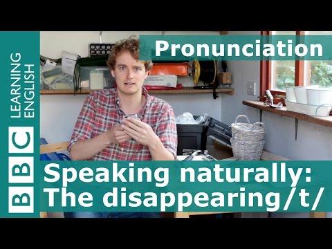 Pronunciation: Elision of /t/