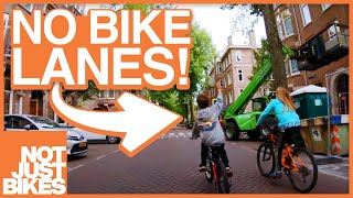 Invisible Bicycle Infrastructure of the Netherlands (Hoofdnetten)
