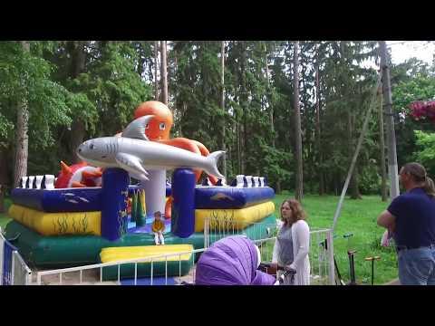 Жуковский, Парк культуры - просто гуляем (24.06.2017). Zhukovsky, Town Park - Just Walking.