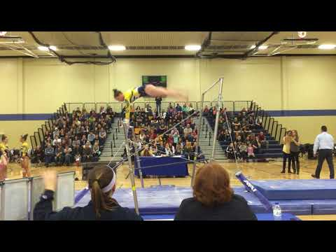 Sydney Dame - UB (1) - UWEC Gymnastics Senior/Parent Night