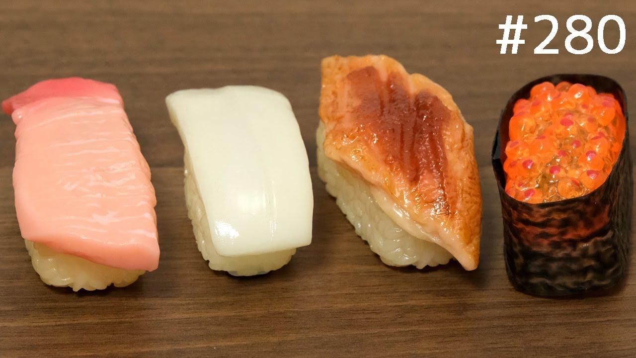 走る!寿司チョロQ。SUSHI CAR. japanese toy - YouTube