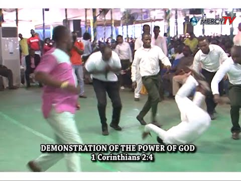 DEMONSTRATION OF THE POWER OF GOD