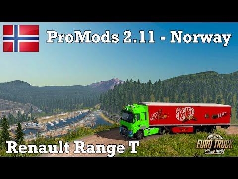 Euro Truck Simulator 2 - #290 - Renault T Range [ProMODS 2.11 - Svalbard, Norway]