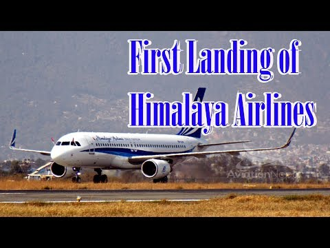 Himalaya Airlines  journey  has Begun with its A320, 9N-ALM.