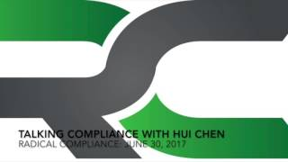 Talking Compliance With Hui Chen