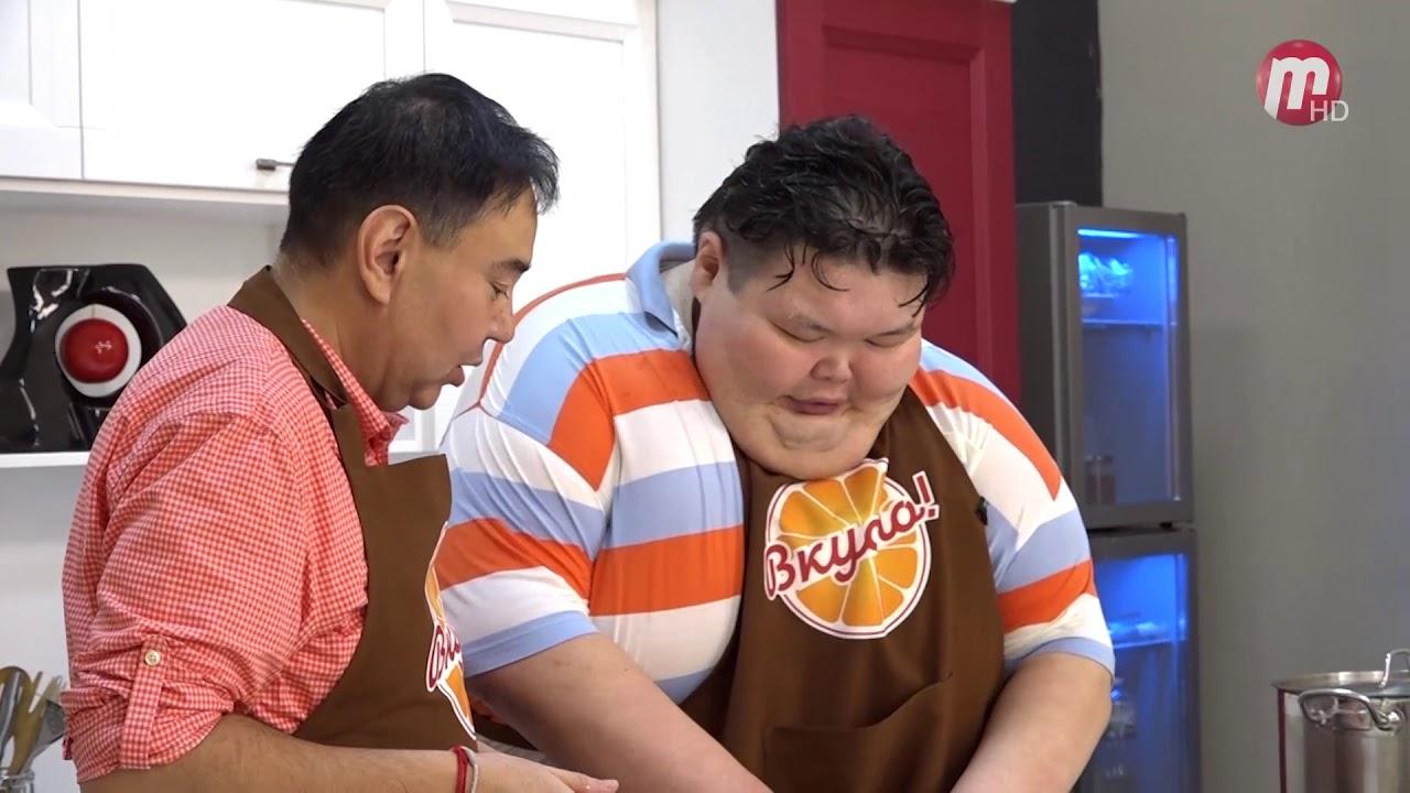 Вкусно! В гостях Анатолий Михаханов. Готовим блюдо японской кухни - Тянконабэ