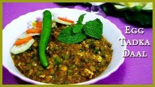 Bengali Egg Tadka Daal - Indian Lentils Recipe