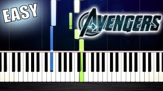 Baixar The Avengers - Theme Song - EASY Piano Tutorial by PlutaX