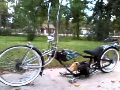 Lowrider Bike W Motor Youtube