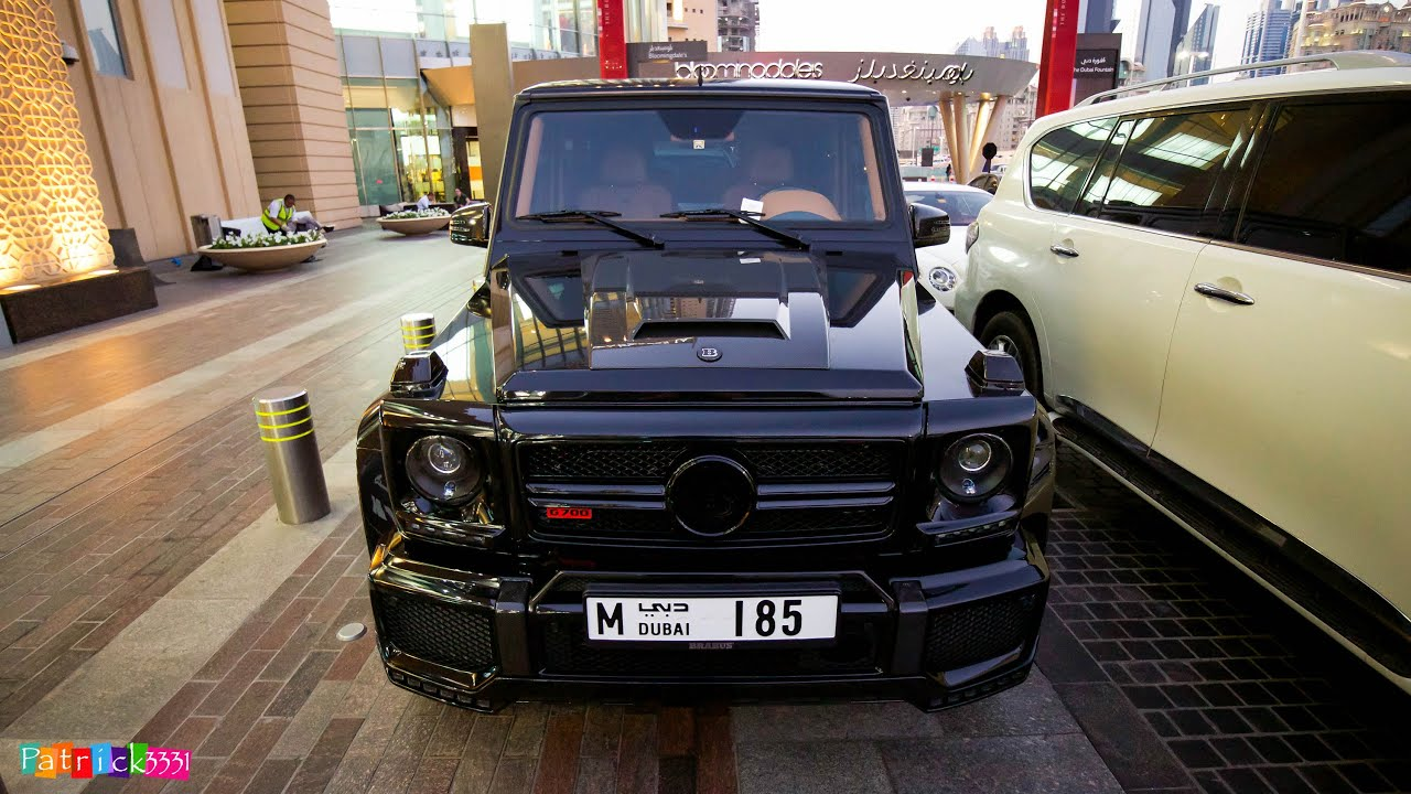 Brabus G700 - Mercedes-Benz G63 AMG - YouTube