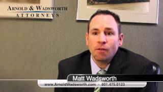 Why Bankruptcy Will Work For You? (801) 903-2616 - Arnold & Wadsworth