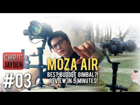 Best Value Gimbal?! 📹 MOZA Air 🔩 - A SUPER FAST, First-Look Review And Guide!