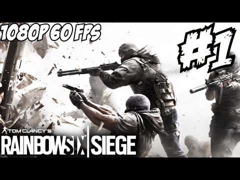 Rainbow Six Siege 6 Gameplay Walkthrough Part 1 Press Alpha Review Let's Play 1080p HD 60 FPS
