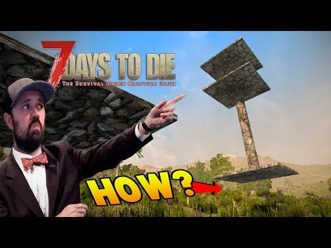 Your Build Ideas | 7 Days Alpha 16 Let's Play Gameplay PC | E36