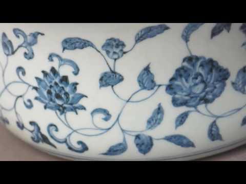 明永樂青花,blue and white porcelain, blue and white pottery, blue and white china, blue and white vases,