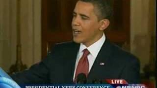 Obama: It took us a couple of days because I like to know what I