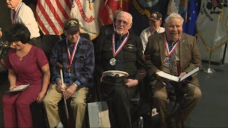 Veterans Get High School Diplomas Decades After Leaving School to Go to War